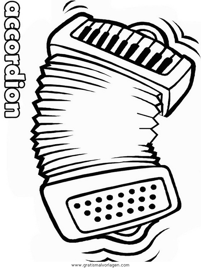 akkordeon 2 gratis malvorlage in diverse malvorlagen