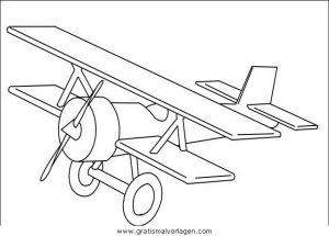 Flugzeuge 47 Gratis Malvorlage In Flugzeuge Transportmittel Ausmalen