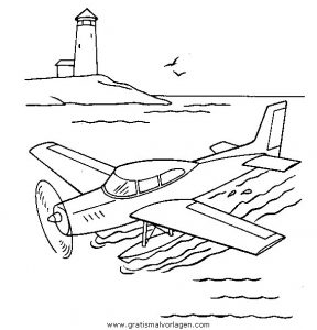 Malvorlage Flugzeuge flugzeuge 55