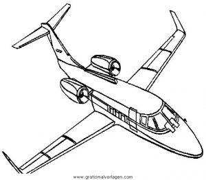 Flugzeuge 58 Gratis Malvorlage In Flugzeuge Transportmittel Ausmalen