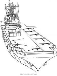 flugzeugtrager 4 gratis Malvorlage in Schiffe, Transportmittel