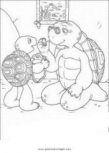 Malvorlage Franklin Turtle franklin turtle 15