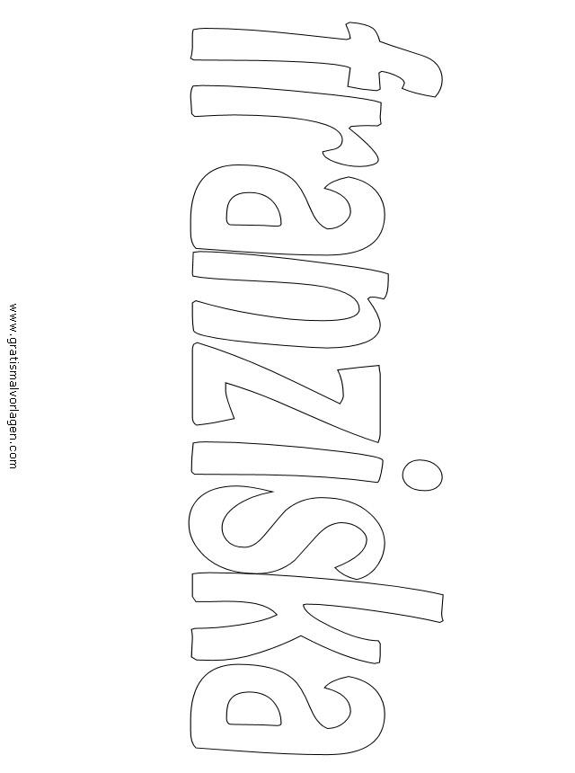 franziska 01 gratis Malvorlage in Diverse Malvorlagen, Namen - ausmalen