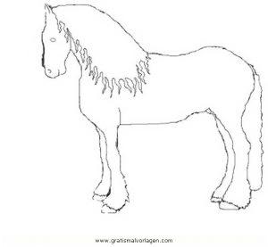 friesen gratis malvorlage in pferde, tiere - ausmalen
