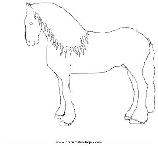 friesen gratis malvorlage in pferde tiere  ausmalen