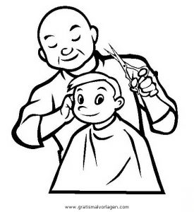 Friseur Malvorlagen Malvorlagencr