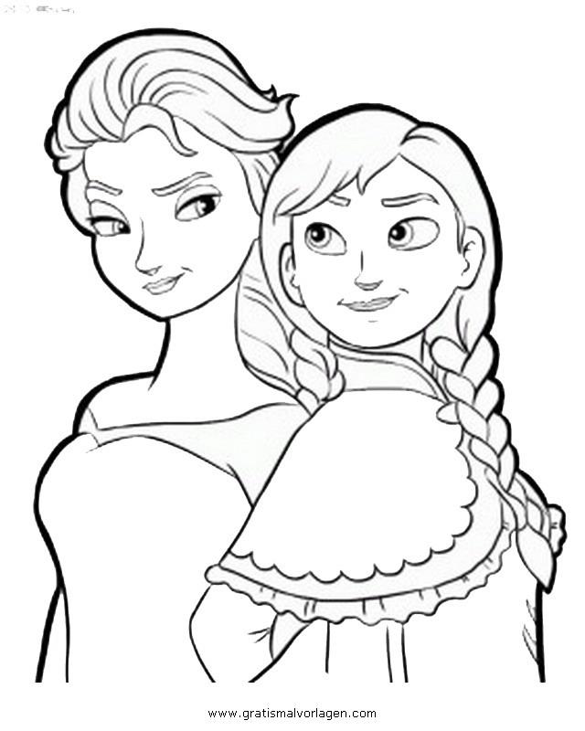 Frozen 00 gratis malvorlage in comic trickfilmfiguren for Immagini di frozen da colorare e stampare