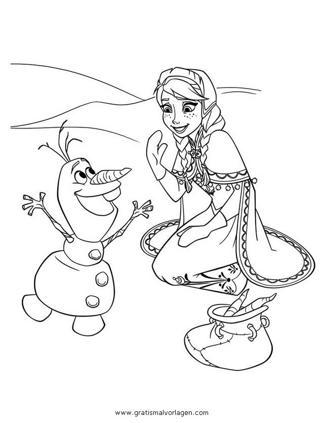 frozen 36 gratis malvorlage in comic  trickfilmfiguren