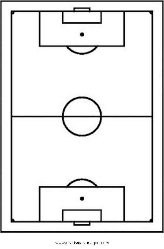 fussballfeld gratis Malvorlage in Beliebt07, Diverse Malvorlagen