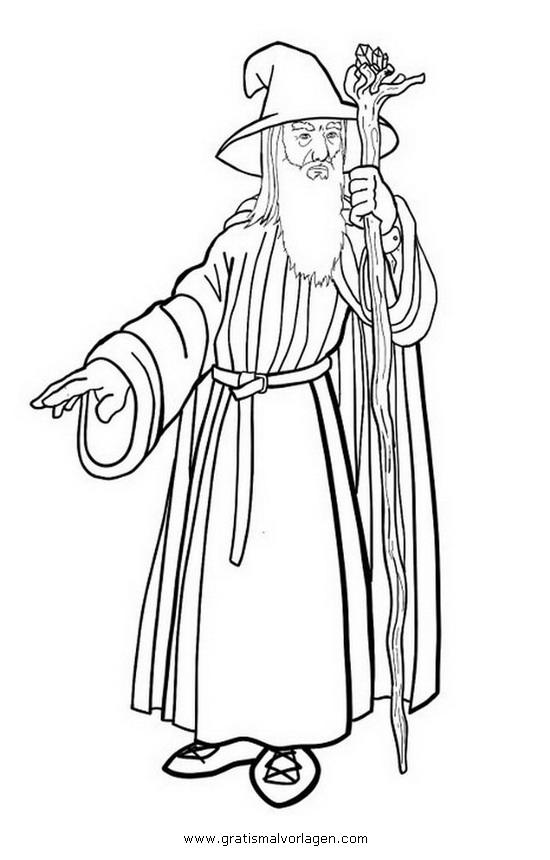 Gandalf 3 Gratis Malvorlage In Beliebt11 Diverse