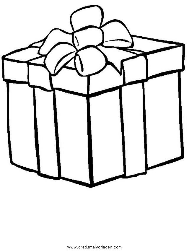 Geschenke 14 Gratis Malvorlage In Geschenke Weihnachten Ausmalen