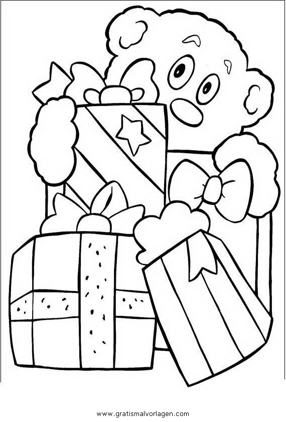 geschenke 59 gratis malvorlage in geschenke, weihnachten