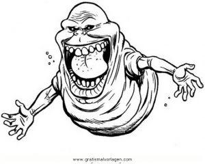 Ghostbusters 12 Gratis Malvorlage In Comic Trickfilmfiguren