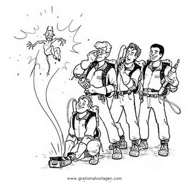 Ghostbusters Malvorlagen zum Ausmalen für Kinder -