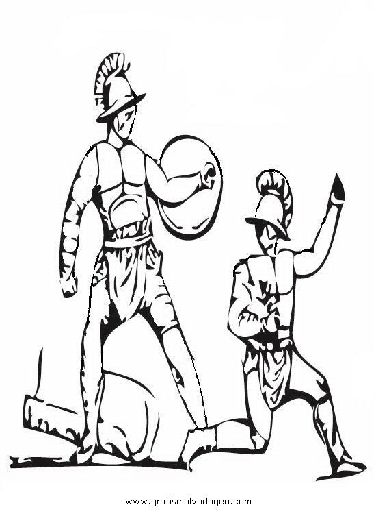 gladiatoren 14 gratis malvorlage in antikes rom geografie