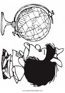 Malvorlage Beliebt05 globus 3