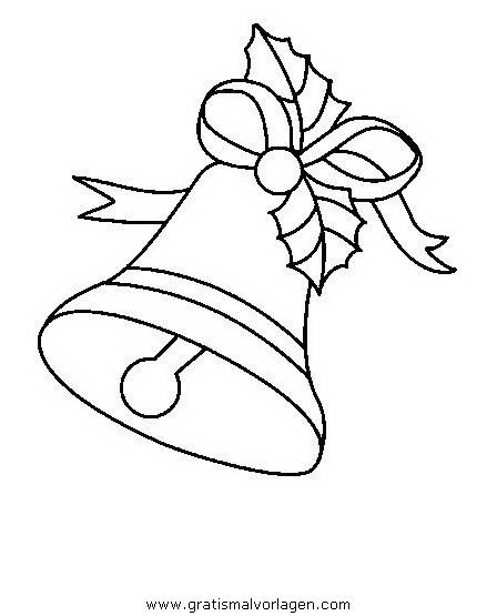 glocke 33 gratis malvorlage in glocke weihnachten  ausmalen