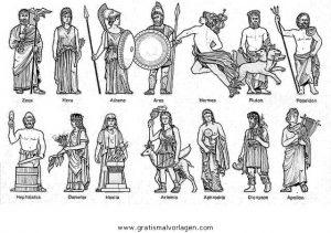 Gottheiten Namen