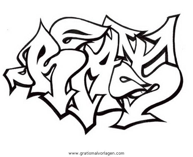graffiti grafiti 13 gratis malvorlage in diverse