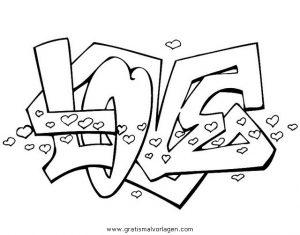 Graffiti Grafiti 16 Gratis Malvorlage In Diverse Malvorlagen