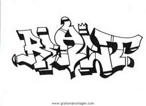 graffiti grafiti 18 gratis malvorlage in diverse