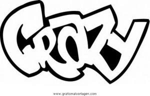 Graffiti Grafiti 22 Gratis Malvorlage In Diverse Malvorlagen