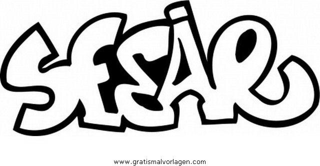 graffiti grafiti 25 gratis Malvorlage in Diverse Malvorlagen ...