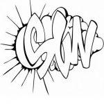 Graffiti Malvorlagen Zum Ausmalen Fur Kinder