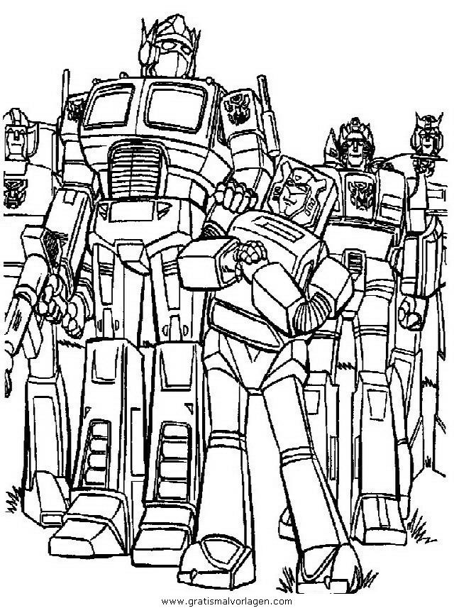 transformers gratis malvorlage in transformers  ausmalen