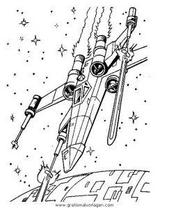Kampfflugzeuge 2 Gratis Malvorlage In Science Fiction Star