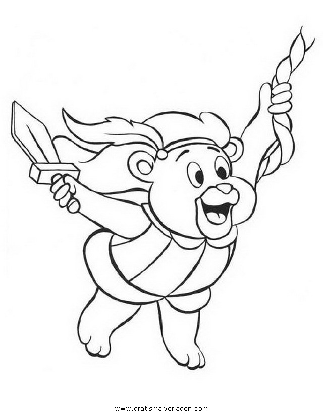 Rayman 11 Gratis Malvorlage In Comic Trickfilmfiguren: Gummibaerenbande 11 Gratis Malvorlage In Comic