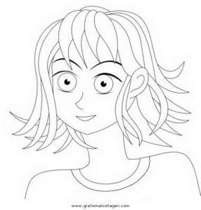 Haare 1 Gratis Malvorlage In Mädchen Menschen Ausmalen