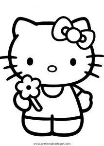 hallokitty 66 gratis malvorlage in comic  trickfilmfiguren, hello kitty - ausmalen