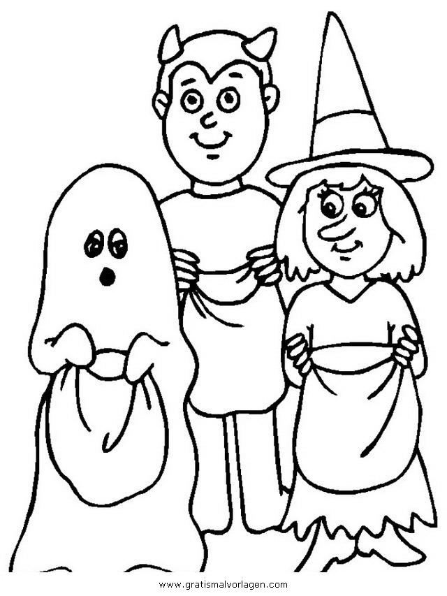 halloween 071 gratis malvorlage in halloween verschiedene