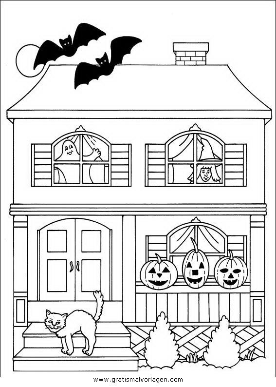 halloween 080 gratis malvorlage in halloween verschiedene