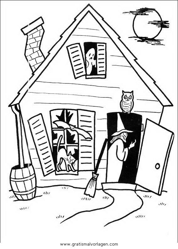 halloween 085 gratis malvorlage in halloween verschiedene