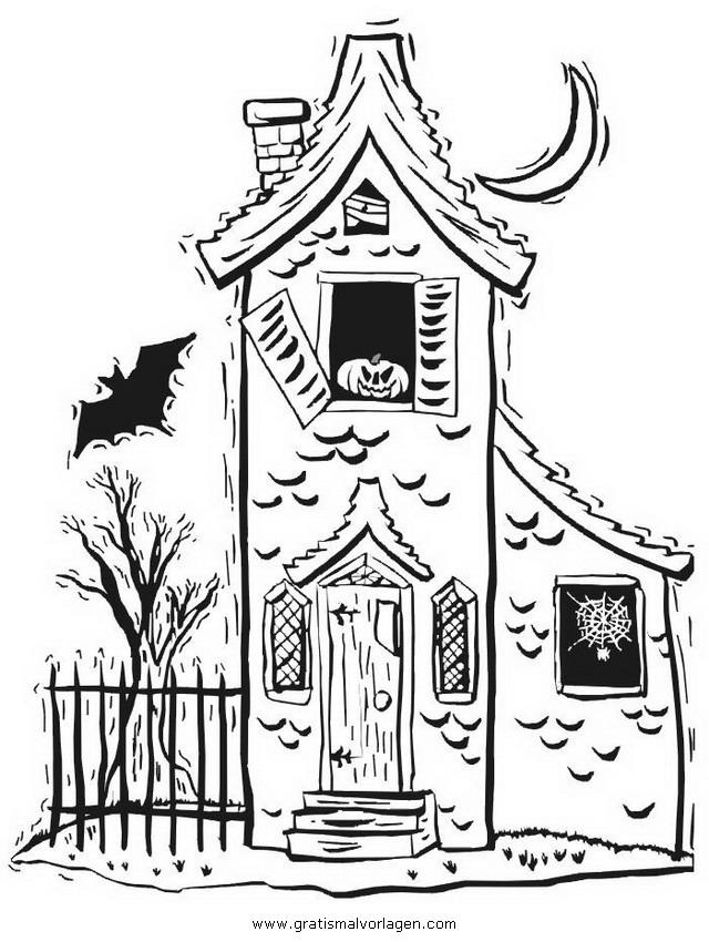 halloween 093 gratis malvorlage in halloween verschiedene