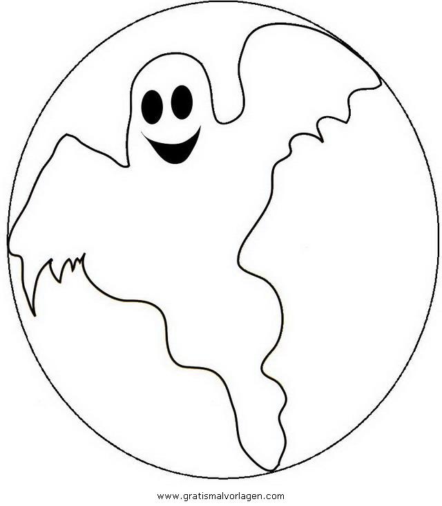 Halloween Gespenst 27 Gratis Malvorlage In Gespenst