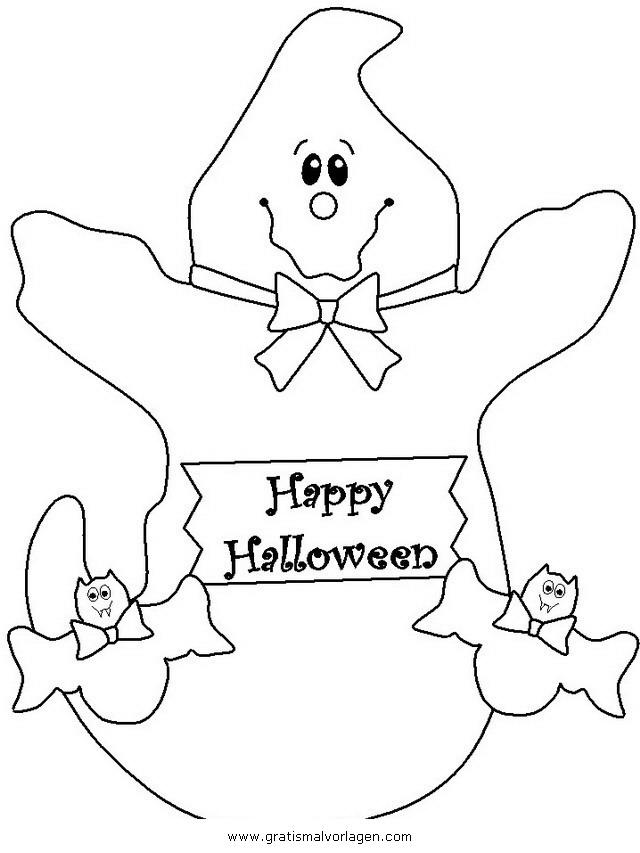 halloween gespenst 28 gratis malvorlage in gespenst