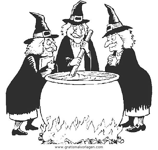 halloween hexen 46 gratis malvorlage in halloween hexe