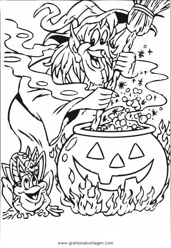 halloween hexen 47 gratis malvorlage in halloween, hexe