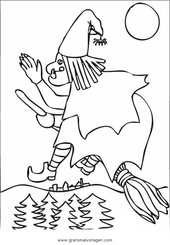 halloween hexen 48 gratis malvorlage in halloween hexe