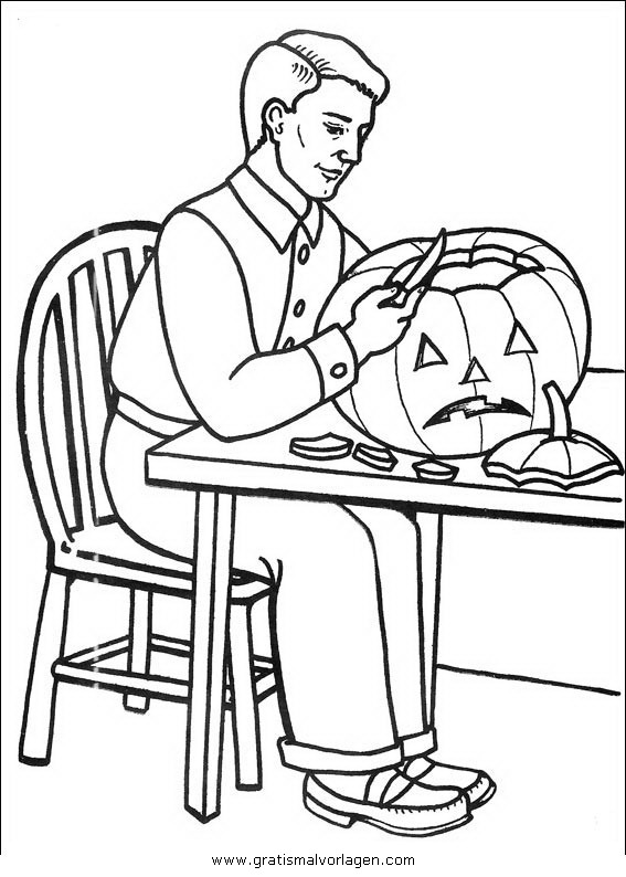 halloween kurbisse 34 gratis malvorlage in halloween