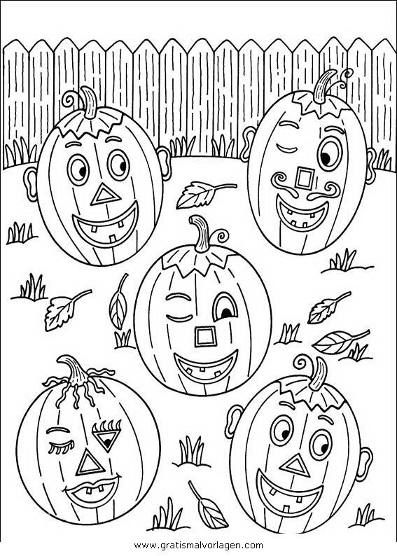 halloween kurbisse 51 gratis malvorlage in halloween