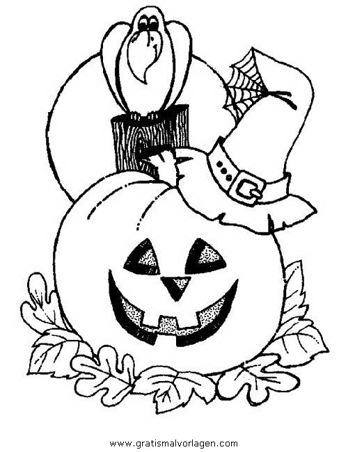 halloween kurbisse 58 gratis malvorlage in halloween