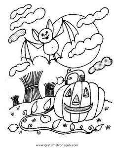 Malvorlage Kürbisse halloween kurbisse 59