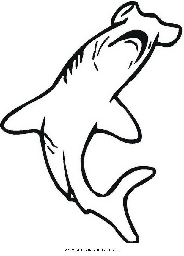 Niedlich Hammerhai Hai Druckbare Malvorlagen Bilder - Beispiel ...