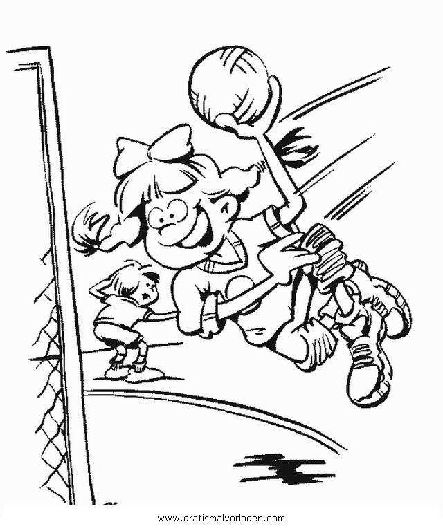handball 0 gratis Malvorlage in Sport, Verschiedene Sportarten ...