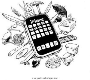 handy iphone gratis malvorlage in beliebt09, diverse malvorlagen - ausmalen