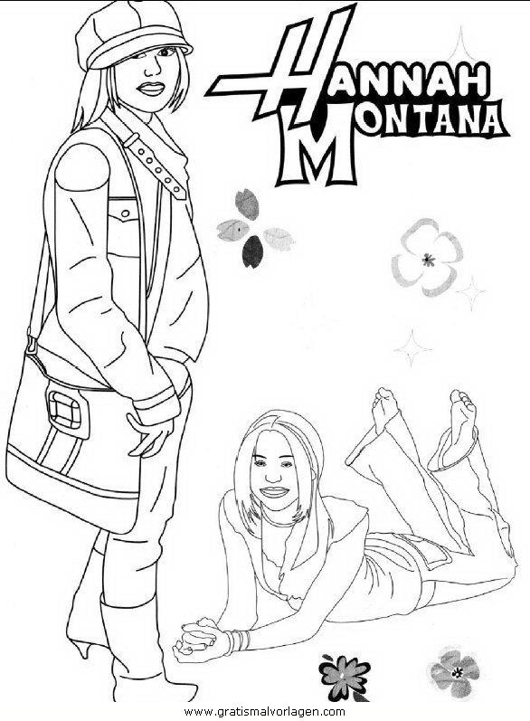 Rayman 11 Gratis Malvorlage In Comic Trickfilmfiguren: Hannah Montana 11 Gratis Malvorlage In Comic